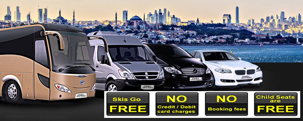 istanbul airport bus, taxi, van hire, car rental