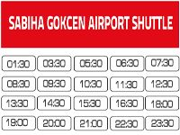 Airport shuttle from Istanbul Sabiha Gokcen Airport