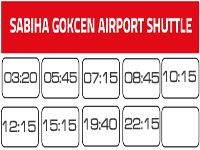 Shuttle bus to Sabiha Gokcen Airport from Sultanahmet